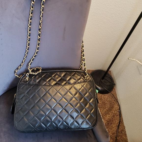 8a399883dd17 CHANEL Bags | Large Matelasse Lambskin Bag | Poshmark